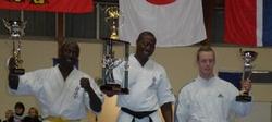 zoungrana kyokushin podium
